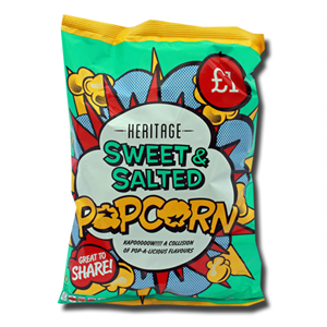 Heritage Sweet & Salted Popcorn 100g