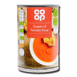 Coop Cream of Tomato Soup 400g