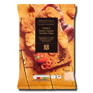 Coop Chilli & Nacho Cheese Tortilla Chips 150g