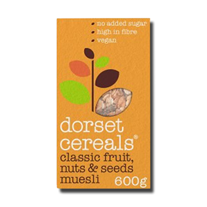Dorset Classic Fruits Roasted Nuts & Seeds 600g
