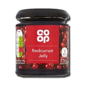 Coop Redcurrant Jelly 220g
