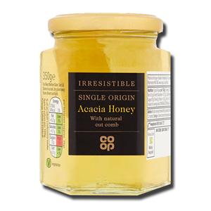 Coop Acacia Honey with Cut Comb 350g