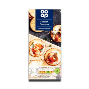 Coop Traditional Scottish Oatcakes 250g