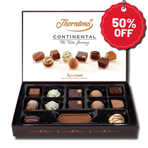 Thorntons Continental Selection 142g