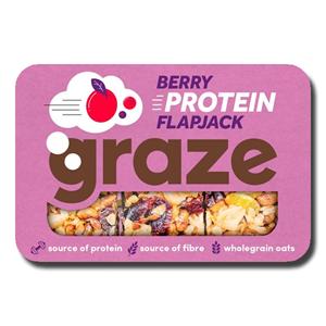 Graze Berry Protein Flapjack 53g