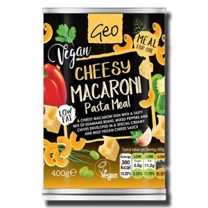 Geo Vegan Cheesy Macaroni 400g