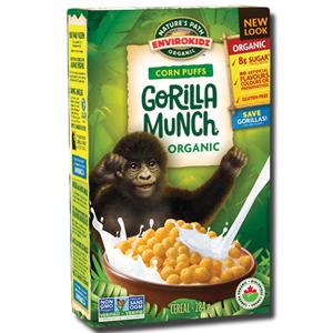 Nature's Path Gorilla Munch Corn Puffs 300g