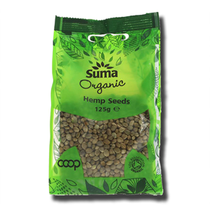 Suma Organic Hemp Seeds 125g