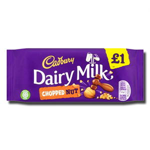 Cadbury Dairy Milk Chopped Nut 95g