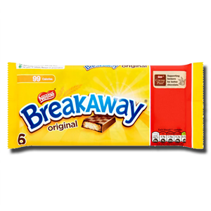 Nestlé Breakaway Milk Chocolat Bar 114.6g