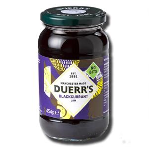 Duerr's Blackcurrant Jam 454g