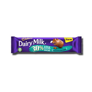 Cadbury Dairy Milk 30% Less Sugar 35g