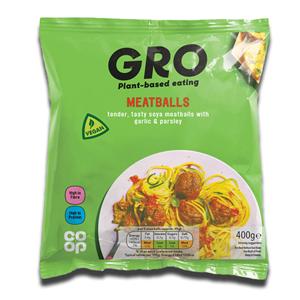 Gro Vegan Meatballs 400g