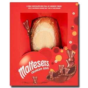 Maltesers Bunny Chocolate Giant Crunchy Easter Egg 496g