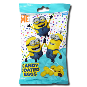 Despicable Me Candy Coated Eggs 140g
