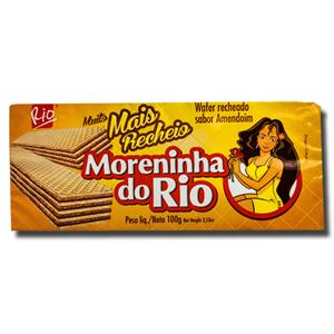 Rio Wafer Recheado Moreninha do Rio Amendoim 100g