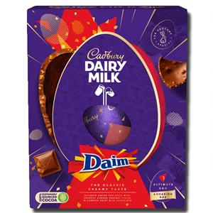 Cadbury Dairy Milk Giant Daim Inclusion Easter Egg 570g