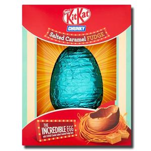 Nestlé KitKat Salted Caramel Fudge Chocolate Egg & Bars 516g
