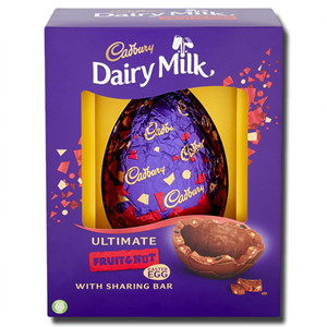 Cadbury Dairy Milk Fruit And Nut Egg 560g