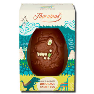 Thorntons Milk Chocolate Dinosaur Easter Egg 151g