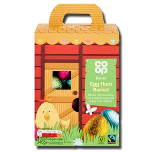 Coop Fairtrade Easter Egg Hunt Basket 340g