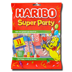 Haribo Super Party Multipack 176g