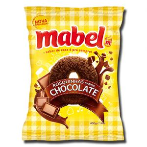 Mabel Rosquinha sabor Chocolate 400g