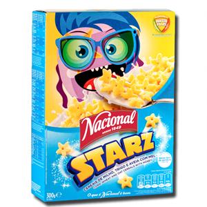 Nacional Starz Cereais de Milho Trigo e Aveia com Mel 300g