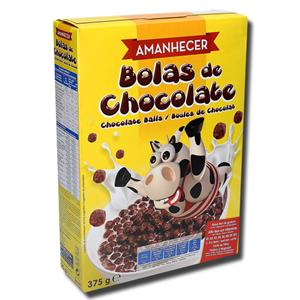 Amanhecer Cereais Bolas de Chocolate 375g