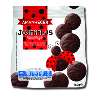 Amanhecer Bolacha de Chocolate Negro Joaninhas 150g
