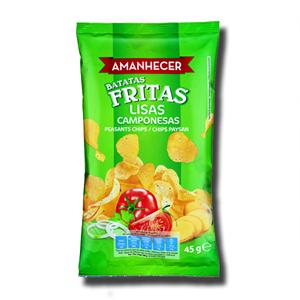 Amanhecer Batatas Fritas Lisas Camponesas 45g