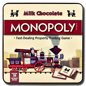 Hasbro Milk Chocolate Monopoly Tin 108g