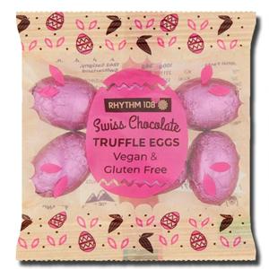 Rhythm 108 Swiss Chocolate Truffle Eggs Vegan Gluten Free 36g