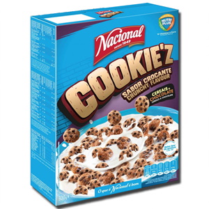 Nacional Cookie'z Cereais e Chocolate 300g