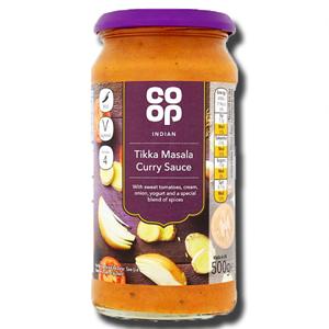 Coop Tikka Masala Curry Sauce 500g