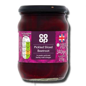 Coop Pickled Sliced Beetroot 215g