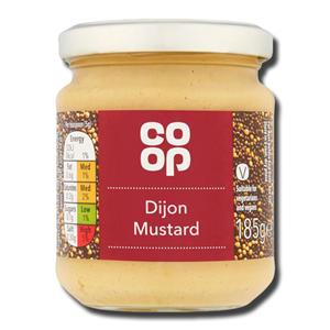 Coop Dijon Mustard 185g