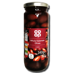 Coop Whole Kalamata Olines 340g