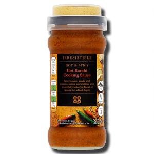 Coop Hot Karahi Cooking Sauce 360g