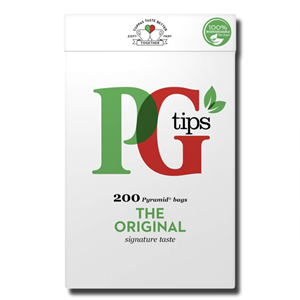 PG Tips 200's Pyramid Bags 580g