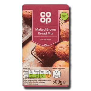 Coop Malted Brown Bread Mix 500g