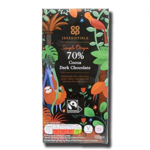 Coop 70% Dark chocolate 100g