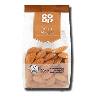 Coop Whole Almonds 100g