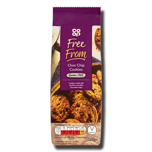 Coop Free From Choc Chip Cookies 145g