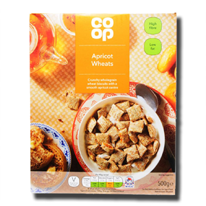 Coop Apricot Wheats 500g