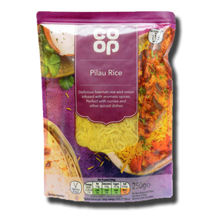 Coop Pilau rice 250g