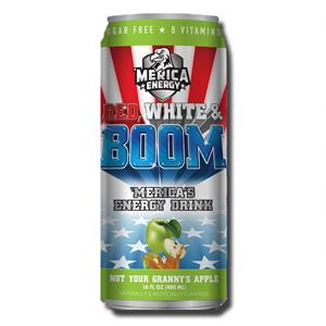 America Energy Red, White & Boom Apple 480ml