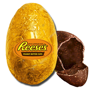 Reese's Chocolate Egg in Gold Foil 200g