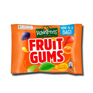 Rowntree's Fruit Gums Sweets Bag 43.5g