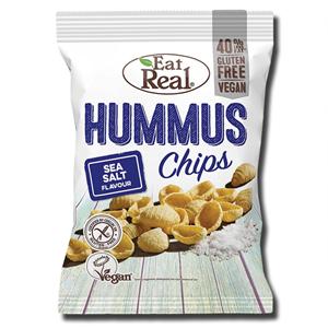 Eat Real Hummus Chips Sea Salt 45g